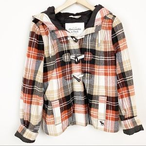 Abercrombie & Fitch Into The Woods Plaid Jacket M